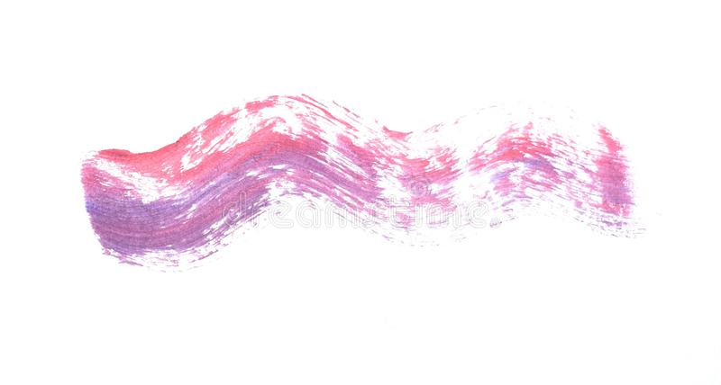 Abstract texture on white background. Acrylic pattern of bright colors. stock photos