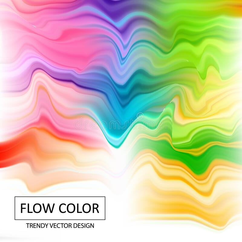 Acrylic colorful abstract pattern. vector background. eps 10. Acrylic colorful abstract vector background stock photo