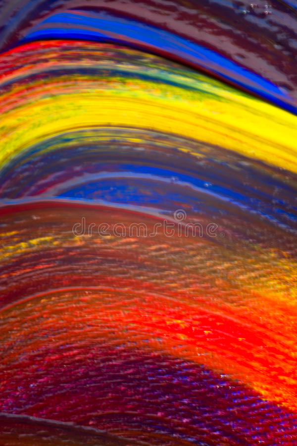Acrylic Colours royalty free stock image