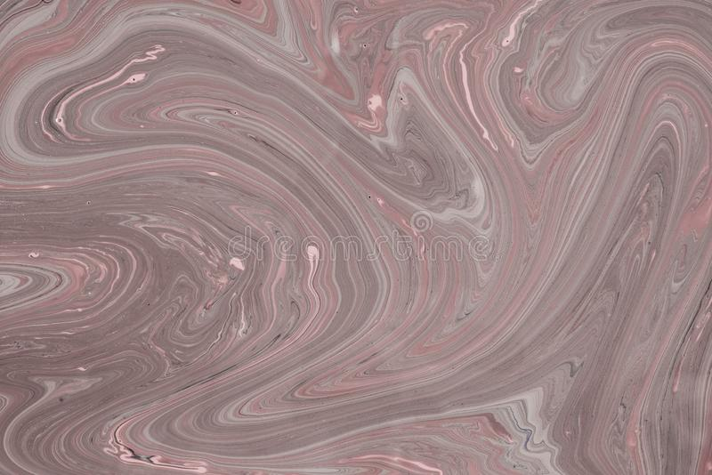 Acrylic liquid- mixed fluid paints art work. Fluid Art- liquid ink pattern. Acrylic paint- acrylic paint to create picture of any style. Artwork blob swirl royalty free stock photos