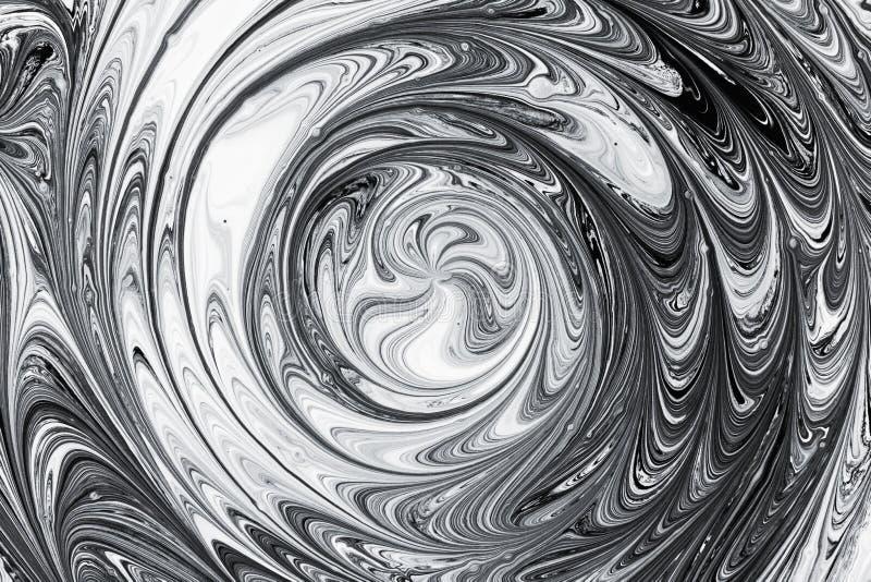 Acrylinkt, verftextuur in water abstracte achtergrond royalty-vrije stock foto's