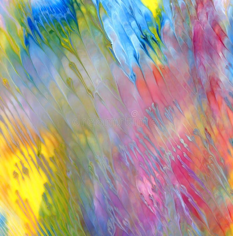 Acrylique abstrait et fond peint par aquarelle image stock