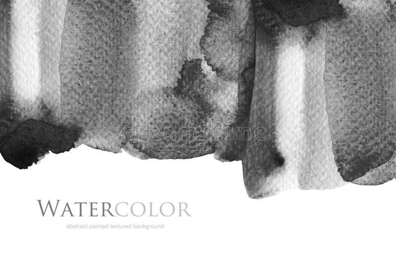 Acrylique abstrait et fond peint par tache d'aquarelle Texture images libres de droits