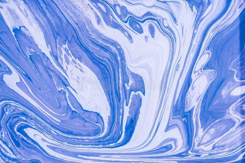 Acrylique liquide Tache liquide de couleur d'art images libres de droits