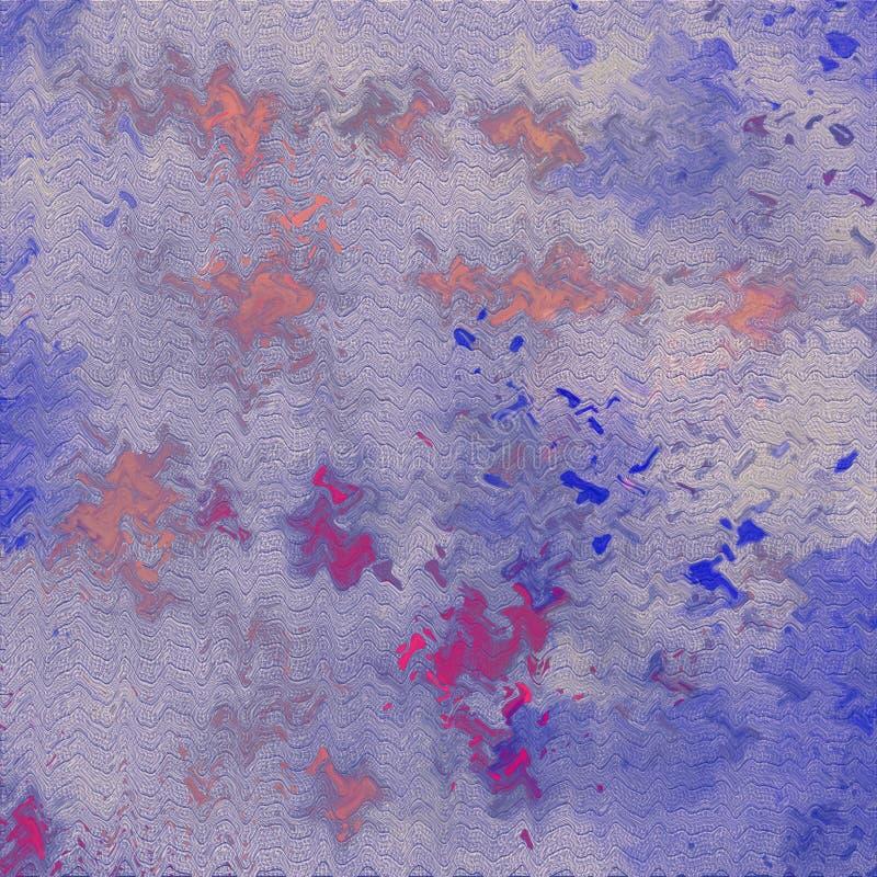 Acrylverfspat op achtergrond Van de Grungeverf & inkt kwaststreektextuur Waterplons op papier Het document van de inktmorserij vector illustratie