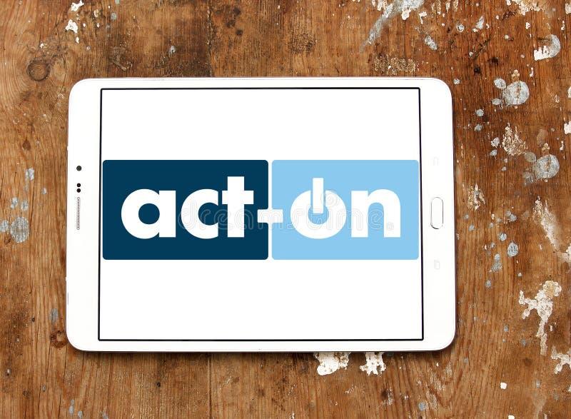 Act-On company logo royalty free stock photography