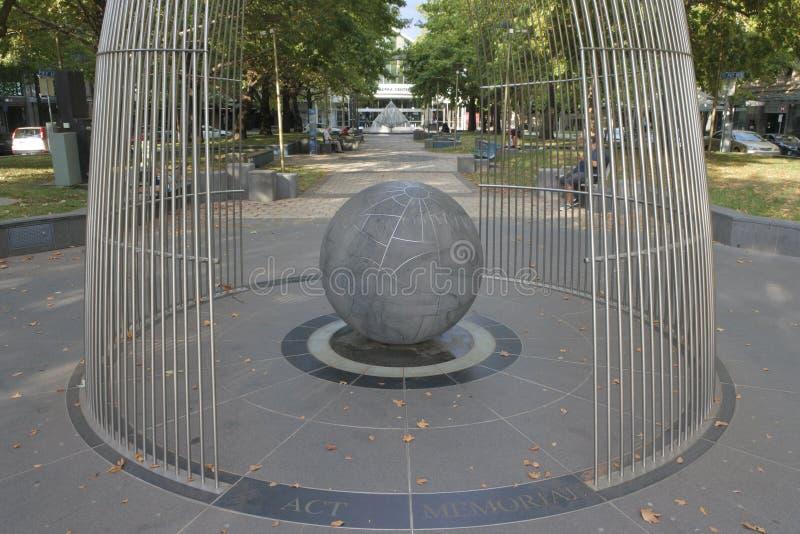 The ACT Memorial in Canberra in Australian Capital Territory Australia stock photo