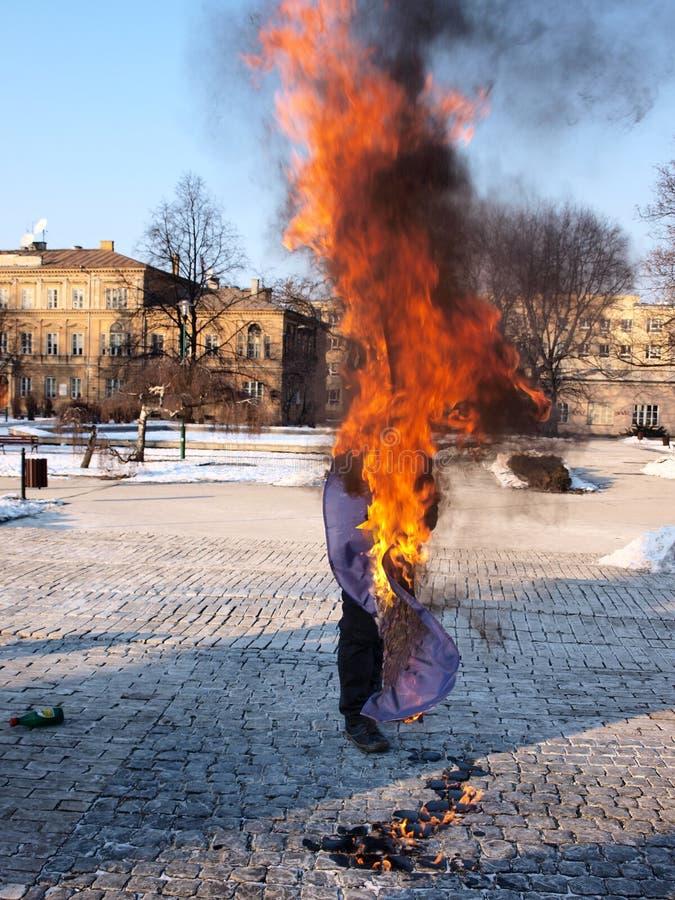 acta против европы lublin Польши стоковая фотография rf