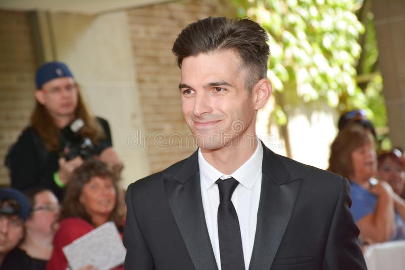 Acteur Alex Greenwald au festival de film international de Toronto 2017 photo libre de droits