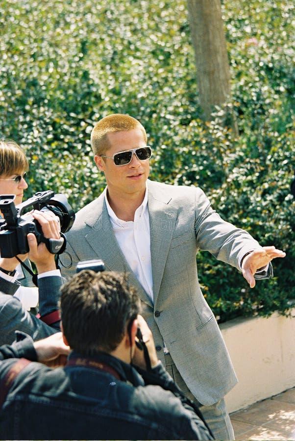 Acteur Brad Pitt photographie stock