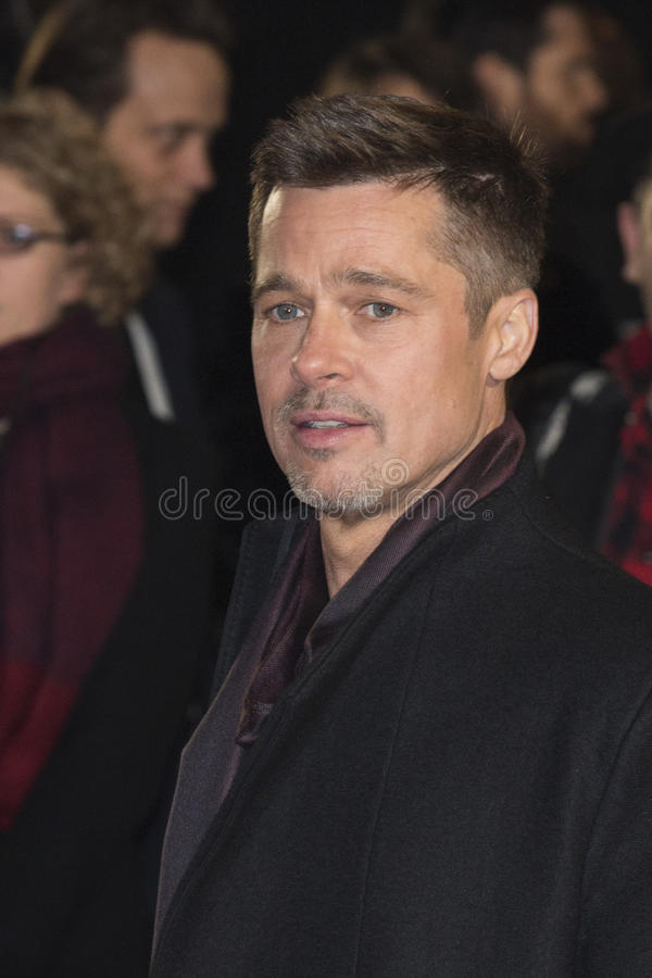 Acteur Brad Pitt photos stock