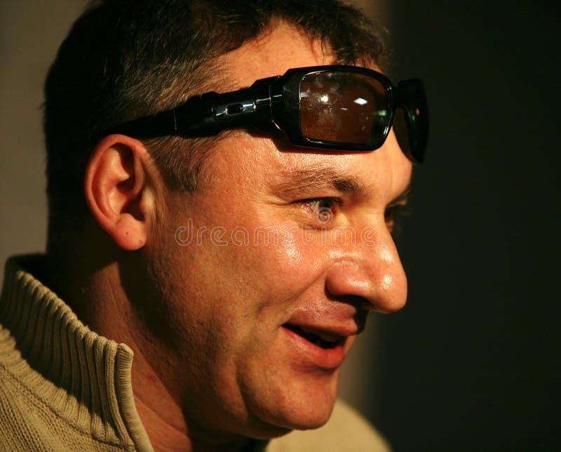 Acteur et chanteur russes Nikolay Fomenko photo stock