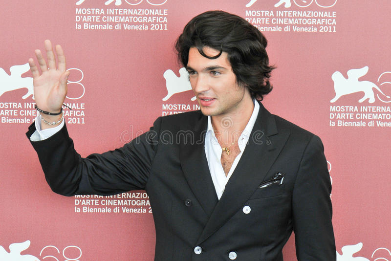 Acteur Filippo Scarafia image stock