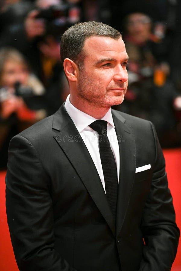 Acteur Liev Schreiber tijdens Berlinale 2018 stock foto