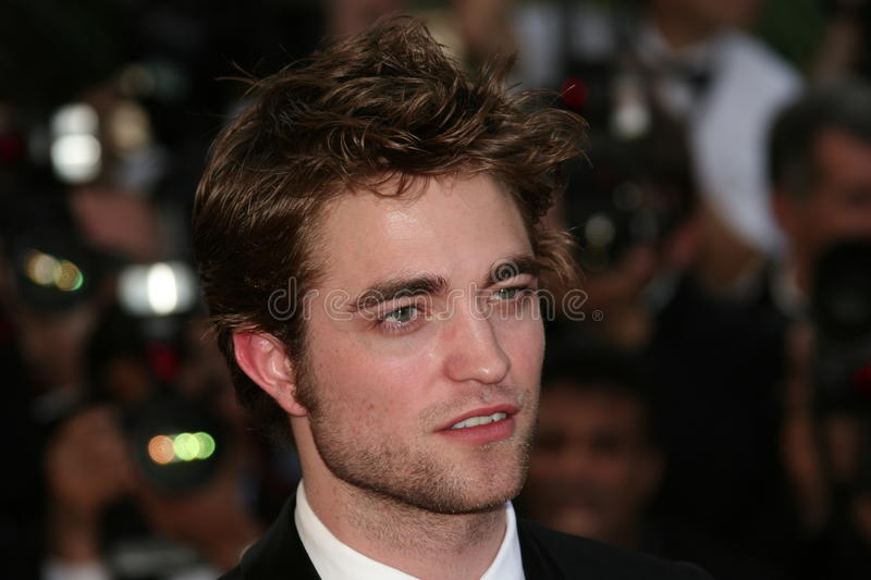 Acteur Robert Pattinson stock afbeelding