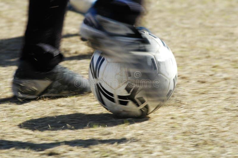 Actie 6 van het voetbal royalty-vrije stock fotografie