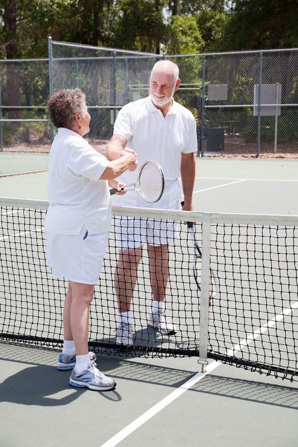 Actief Hoger Paar - Sportiviteit stock foto's
