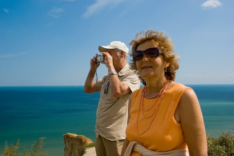 Actief Ouder Paar royalty-vrije stock foto
