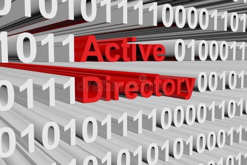 Actieve Folder vector illustratie