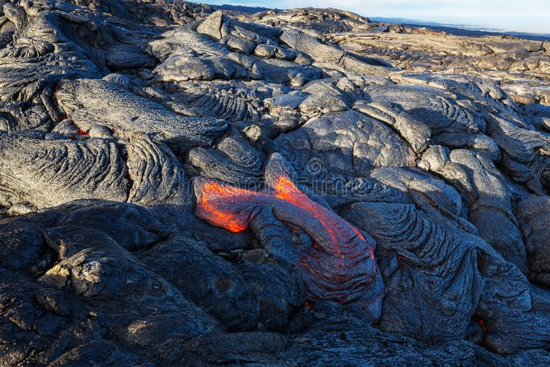 Actieve vulkaan stock afbeeldingen