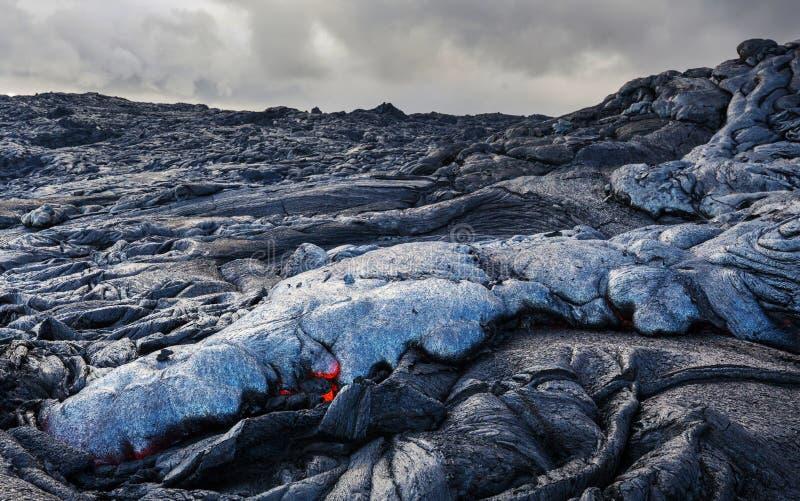Actieve vulkaan stock fotografie