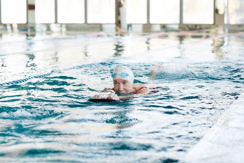 Actieve zwemmer stock foto's