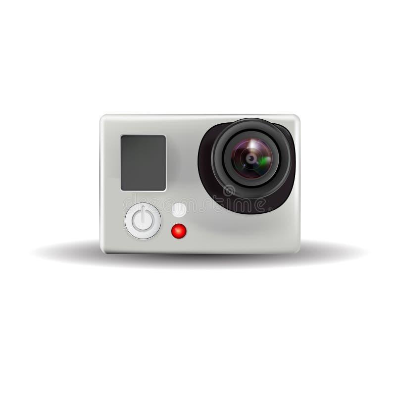 Actievideocamera royalty-vrije stock afbeelding