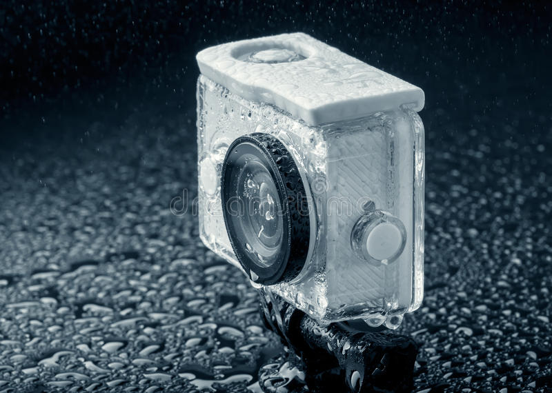 Action camera royalty free stock image