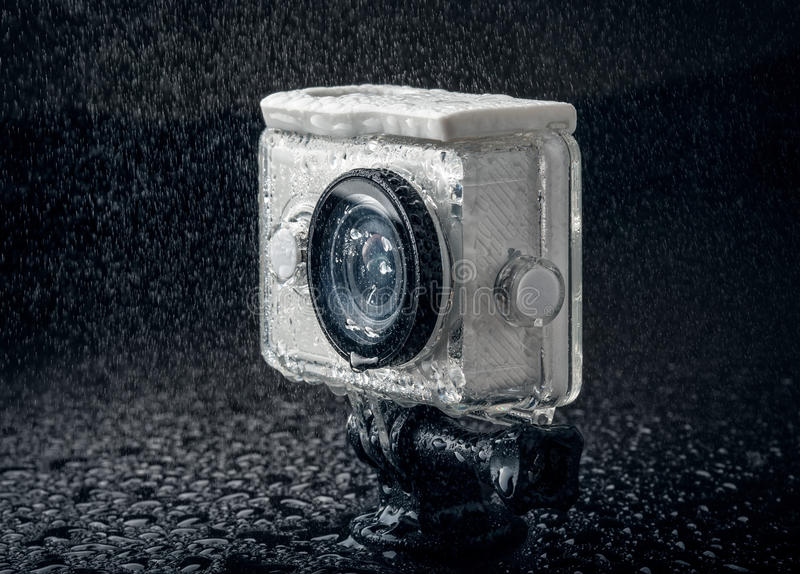 Action camera royalty free stock photos