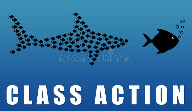 Action collective illustration stock