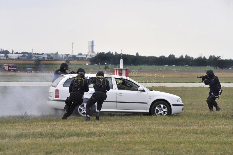 Action de police 3 images libres de droits