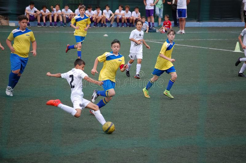Soccer young player royalty free stock photography