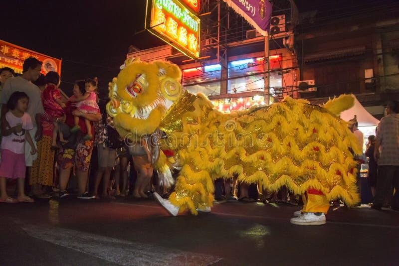 Chinese New Year Celebrations - Bangkok - Thailand stock image