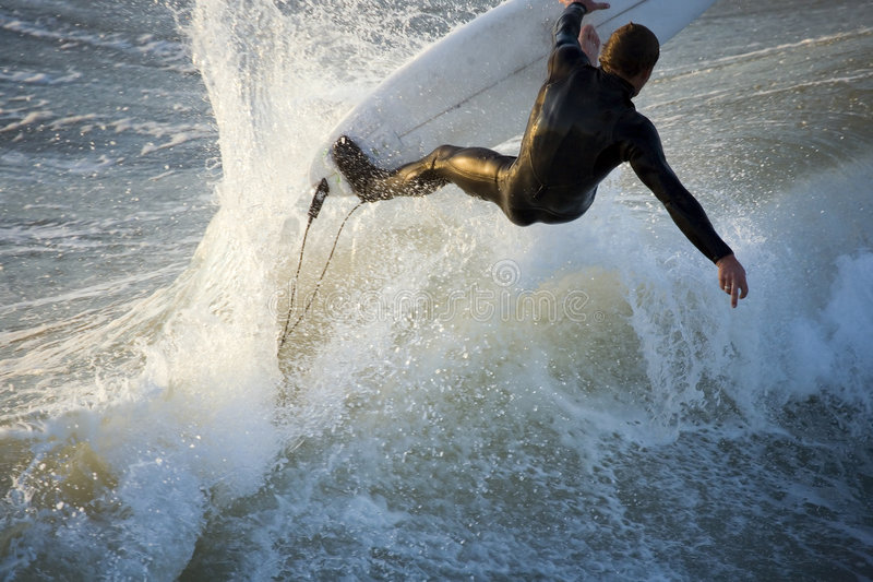 Download Action Surf stock photo. Image of intensity, motion, power - 652936