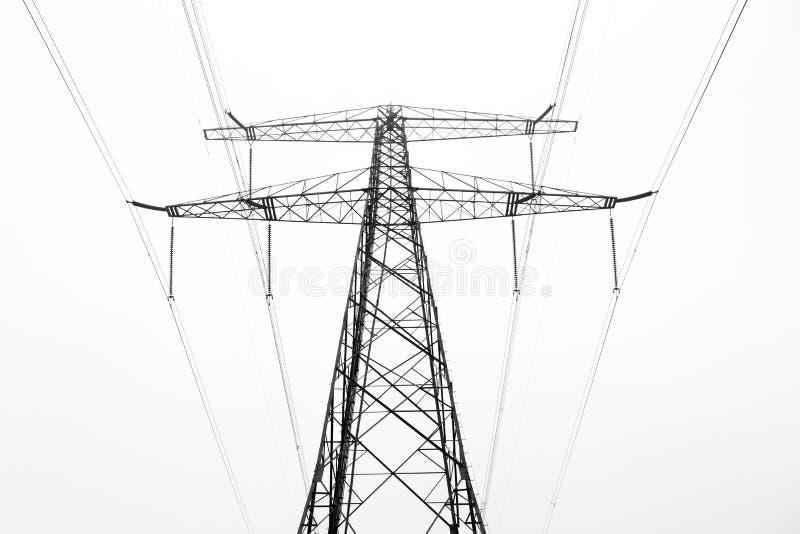Pylône de puissance photographie stock libre de droits