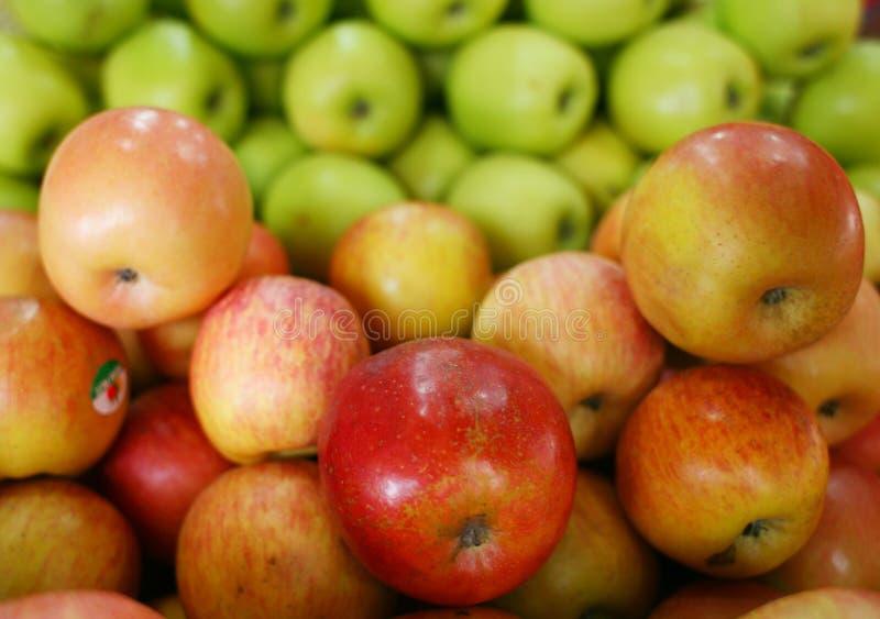 Actions fraîches de pomme photos stock