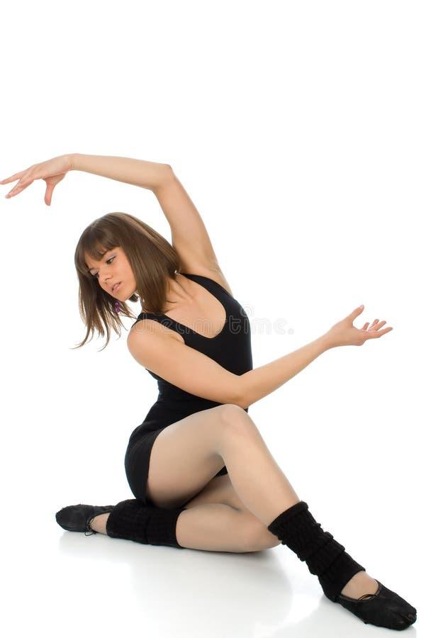 Actitud del ballet fotografía de archivo