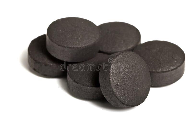 Activated coal stock photos
