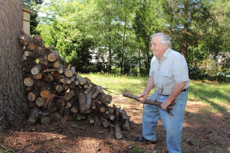 Active старшего человека стоковая фотография