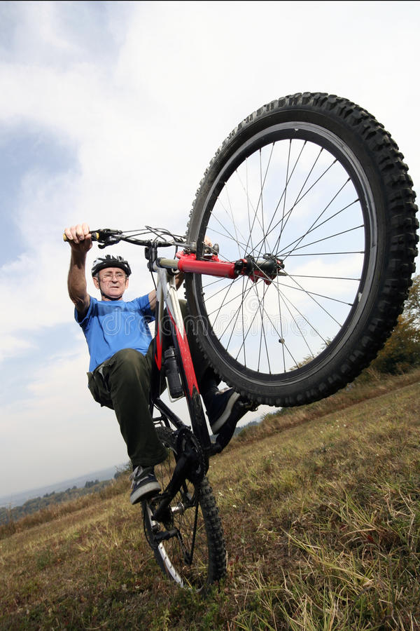 Free Active Biking Senior Stock Photo - 11274510