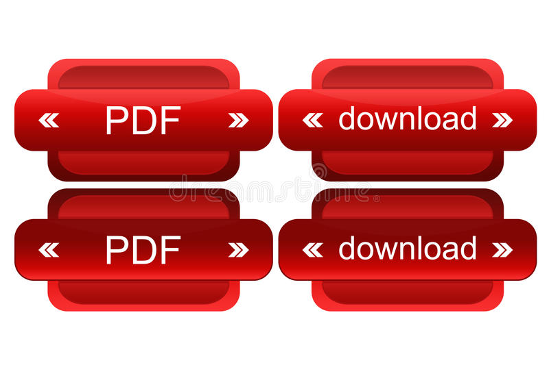 Active button for web royalty free illustration