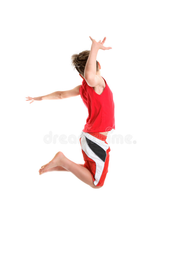Active carefree kids stock images