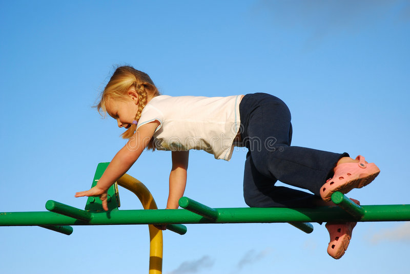Active child playing stock photos