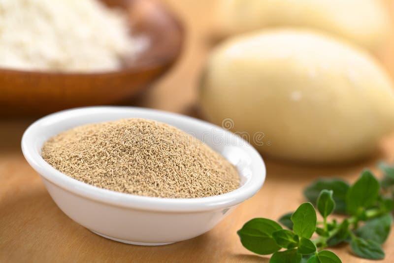 Download Active Dry Yeast stock photo. Image of oregano, bowl - 26690542