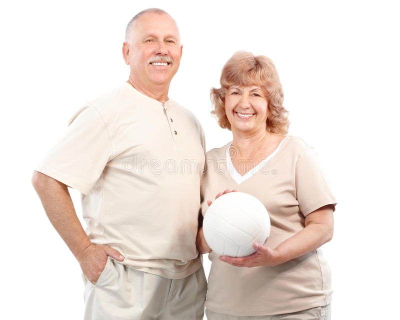 Download Active elderly couple stock photo. Image of recreation - 11742090