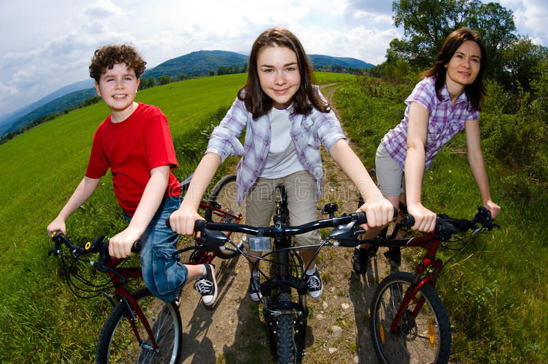 Download Active family stock image. Image of child, countryside - 24379553