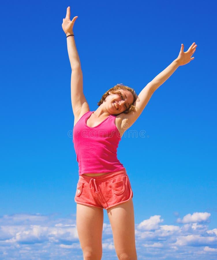 Active Girl Stock Photo. Image Of Woman, Season, Summer