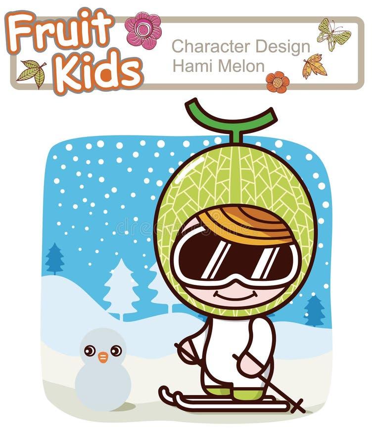 Free Active Kid 1 ------ Winter Ski Royalty Free Stock Photography - 15791027