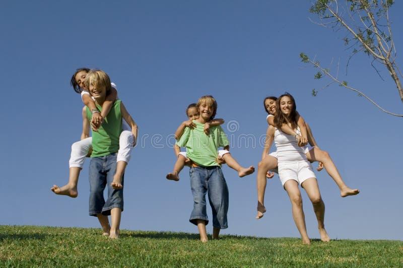 active kids or children stock image
