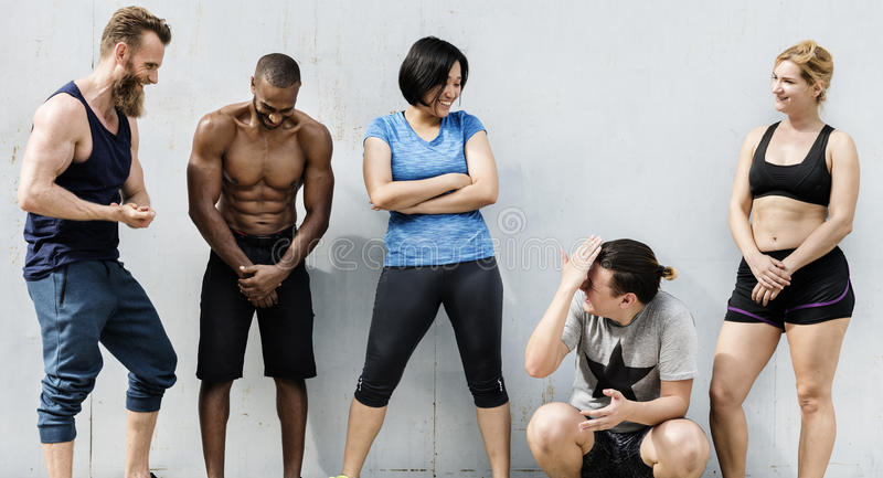 Active People Sport Workout Concept. Active People Sport Workout Fitness stock images